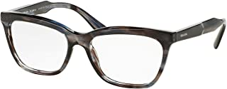 Prada PR24SVF 眼镜架 UEQ1O1-55 - 条纹紫色 PR24SVF-UEQ1O1-55