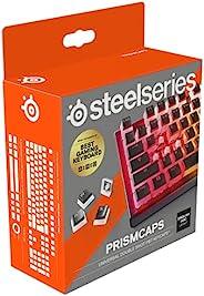 """SteelSeries PrismCaps – 带""""布丁""""外观的双击键套装 – 兼容所有常见的机械键盘 – MX 支架 –"""