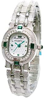 [华伦天奴]VALENTINO ROLENTA 手表 珠宝 手表 金属 表带 玉石 附宝石鉴定书 VR-110-L-EM 女士