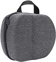 beiyoule 硬质手提箱,适用于 Oculus Quest 2 一体式 VR 游戏耳机和控制器,抗压,防震,便携式保护,硬质 EVA 手提箱带带