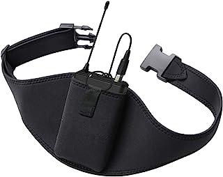 麦克风带 - 麦克风带 带创新橡胶带锁 - 提高可调节性 舒适性 耐用,适用于健身教练、健身课、公共演讲、戏剧、普拉提教师、旋转瑜伽