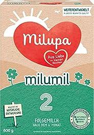 Milupa Milumil 婴儿奶粉 2段(适用于6月以上婴儿),1盒装,600g