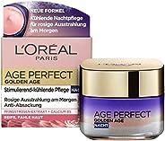 L'Oréal Paris 巴黎欧莱雅 金致臻颜系列 紧致光泽锁龄晚霜 含牡丹提取物,适合成熟和黄润的皮肤,