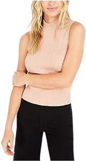 Bar III Becca Tilley X 半高领毛衣背心 Creme De Cassis,尺码 XXL
