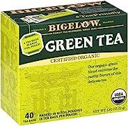 Bigelow *绿茶包,40 盒(6 盒)咖啡因绿茶,共 240 个茶包