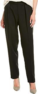 Anne Klein 女士绉纱弹性后褶边长裤