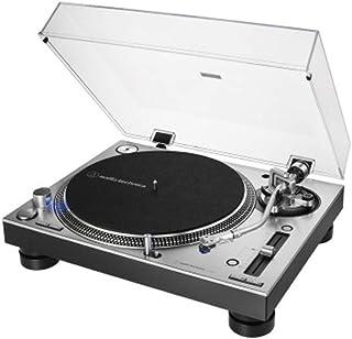 Audio Technica 铁三角 AT-LP140XP 专业型直接驱动手动唱盘-银色