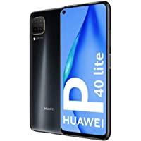 Huawei 华为 P40 Lite 智能手机,128GB,6GB 内存,双卡,黑色