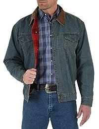 Wrangler 男式西部风格衬里牛仔夹克