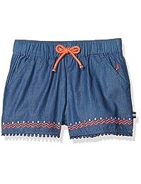 Nautica 女童条纹短裤