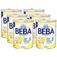 Nestlé 雀巢 BEBA 嬰兒奶粉 3段(適用于10月以上嬰兒),6罐裝(6 x 800g)