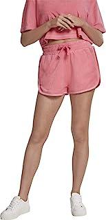 Urban Classics 女士毛巾热裤长裤