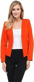 Auliné 系列女式糖果色定制修身开西装夹克外套