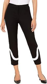 Alfani 女式黑色拼色工作裤娇小尺码:2P