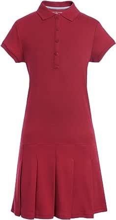Tommy Hilfiger 短袖女童双面布 Polo 连衣裙