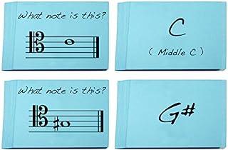 Tenor Clef Note Names Flashcards - 非常有趣的设计,可学习阅读音乐(低音、低音、低音、长音))