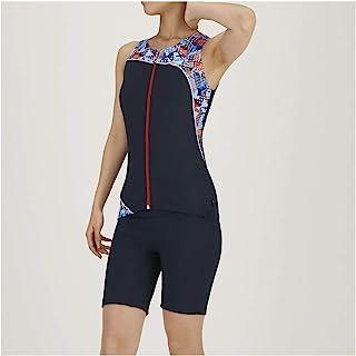 MIZUNO 美津浓 健身泳衣 健身用 女士 分体式 (3.5分长) N2JG0840