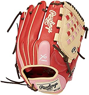 Rawlings 棒球用 手套 垒球用 女性* HOH® DP COLORS [投手用] 尺寸11.75 英寸 GS1HDKM5