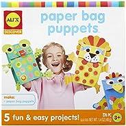 ALEX Toys 儿童木偶美术手工艺品探索纸袋