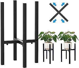Cotify 金属植物支架,适用于户外庭院花园 - 现代可调节花架盆