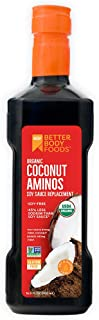 BetterBody Foods Organic Coconut Aminos Soy-Free Soy-Sauce Replacement, 16.9 Ounce