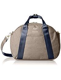 [ Anello ] 单肩包高密度木纹涤纶 ミニボストンショルダーバッグ C1835