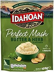 Idahoan Butter and Herb Potato Mash, 109 g, Pack of 12