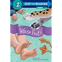 Whose Feet? (Step into Reading) (English Edition)