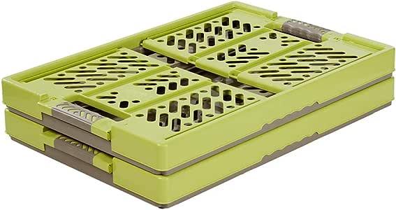 keeeper 2x Stabile 专业折叠箱,带柔软触感,54 x 37 x 28厘米,45升,Ben,*/灰褐色 Green/Taupe 2-Piece Set 3015501000000