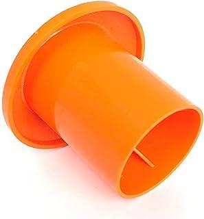 蘑菇棒球帽(10 米 - 25 米)钢筋尺寸:#3-#7 Safety Orange 25 Pack
