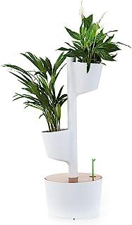 Citysens - 垂直花园带有智能地球灌溉系统 2 Pflanzgefäß 白色 CS1010