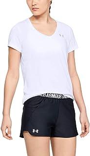 Under Armour 安德玛 女士 Tech V领短袖T恤