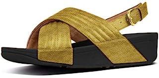 FitFlop 女式 Lulu 加垫凉鞋 人字拖