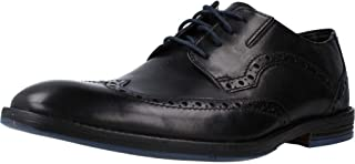 Clarks Prangley Limit 男式系带布洛克鞋