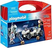 Playmobil 摩比世界 玩具月球赛车,携行盒装