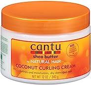 Cantu Natural Hair Coconut Curling Cream 12oz Jar (2 Pack)