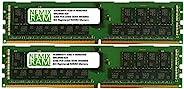 NEMIX RAM 64GB 2x32GB DDR4-2933 PC4-23400 2Rx4 ECC Registered RDIMM 内存,适用于服务器和工作站
