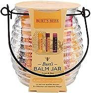 Burt's Bees 美国小蜜蜂 天然唇膏罐3件装:2 x保湿润唇膏4.25克-蜂蜡和石榴味,1 x保湿上色唇膏4.25