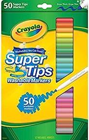 "Crayola 超级 Tips 水洗 markers-50 / 包 – "" 样式可能有"