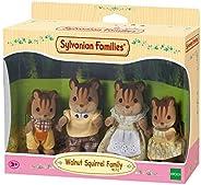 Sylvanian Families 4172 胡桃松鼠家族,多色