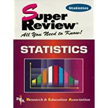 Statistics Super Review (Super Reviews Study Guides) (English Edition)