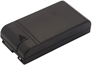 2-Power VBH0997A 6 V 摄像机电池适用于 Hitachi VM2400E、VME25A 和 VME310 - 黑色