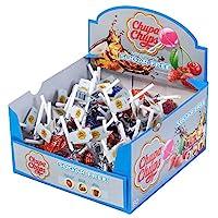 Chupa Chups 無糖 棒棒糖 多口味繽紛裝 50根