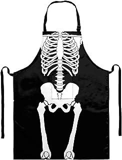 POLERO 圣诞节女士厨房围裙带口袋趣味围裙烹饪、烧烤、烤、烹饪、园艺等, 人类*, 均码