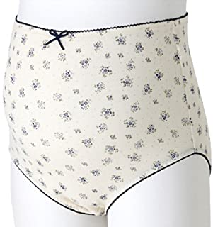 犬印本铺 花纹圆点孕妇内裤 ML 藏青色 SH2395