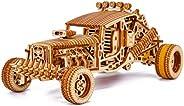 Wood Trick Mad Buggy Car 3D 木制拼图,适合成人和孩子搭建 - 可乘坐*多 25 英尺 - 细节坚固设计 - 木制模型汽车套件