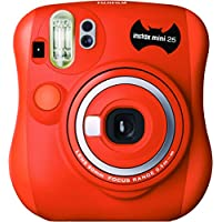 Fujifilm 拍立得 Mini 25 萬圣節拍照相機 成長格式 62 x 46 毫米 橙色