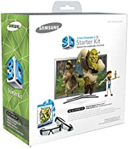 Samsung 三星 SSG-P2100S/ZA Shrek 3D 入门套件 - 白色(兼容 2010 3D 电视)