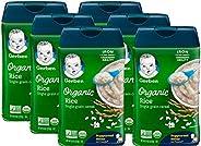Gerber 嘉宝 婴幼儿谷物大米,8盎司(227克),6包