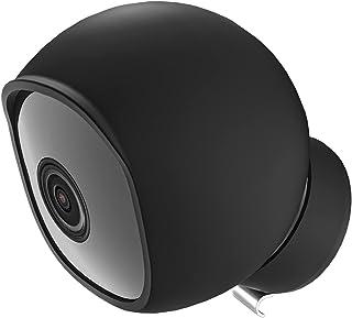 eufy 户外凸轮 C22 硅胶皮肤,防水罩适用于 eufy 户外凸轮 C22/ C24 形状贴合防尘配件(黑色,1 件装)